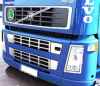 006-1195 Decorativo Rejilla inferior Inoxidable VOLVO FH - FM