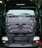 006-1286  embellecedores inox. Frontal Interior  ACTROS MP3 (Kit completo)