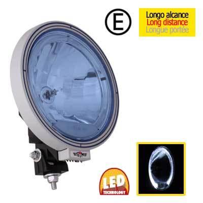 497dd6600ca 004-1066LB Faro Largo alcance azul con luz de posicion LED