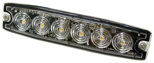 002-4635013W  Led Flash ultrafina 12-24 V Color Blanco