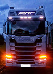 004-24120R Panel publicitario Led SCANIA S y R Highline  28X120 CM